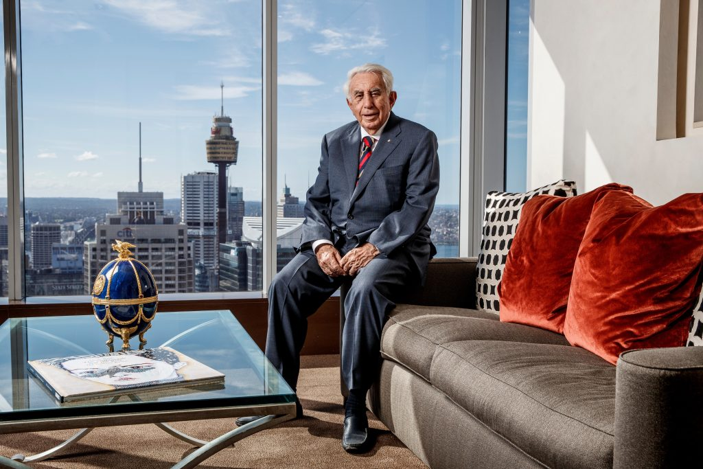 Harry Triguboff Australian billionaire real estate property developer, is one of Australia's richest people. He is the founder and managing director of Meriton.